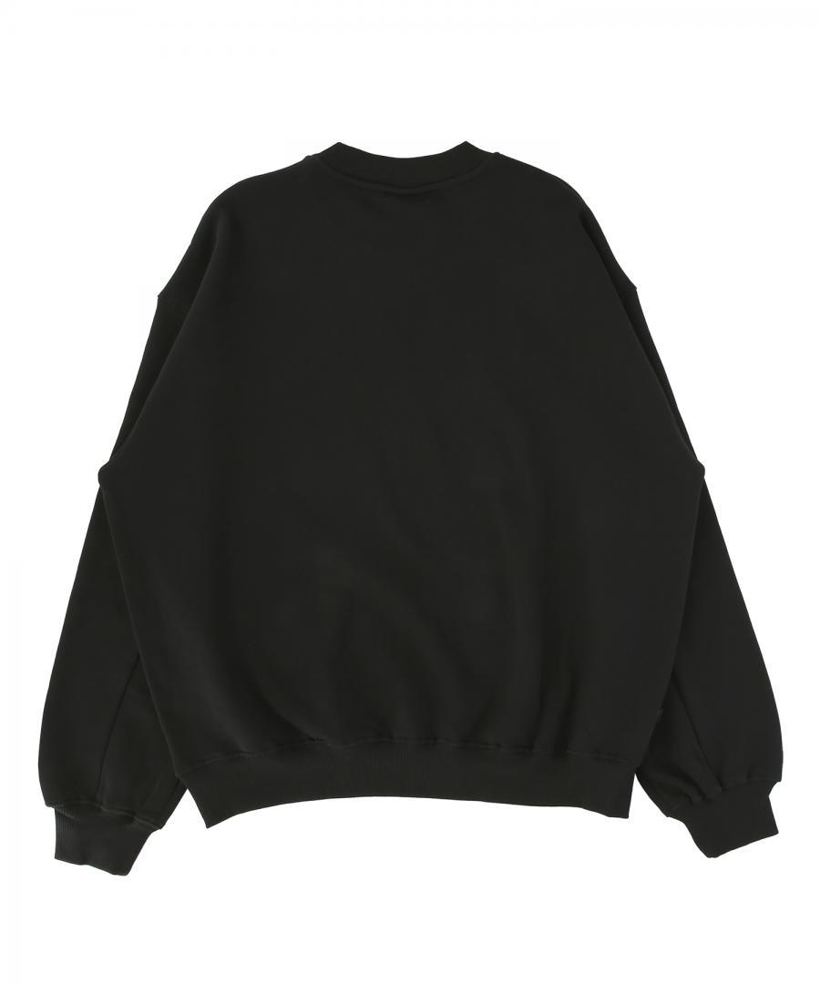 Sweatshirt Big Loose Black