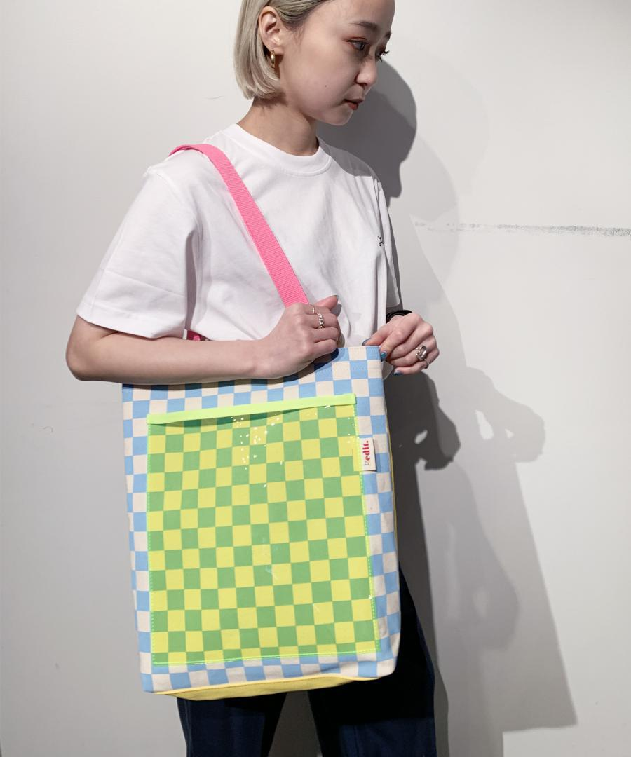 by_edit×k3 TOTE BAG