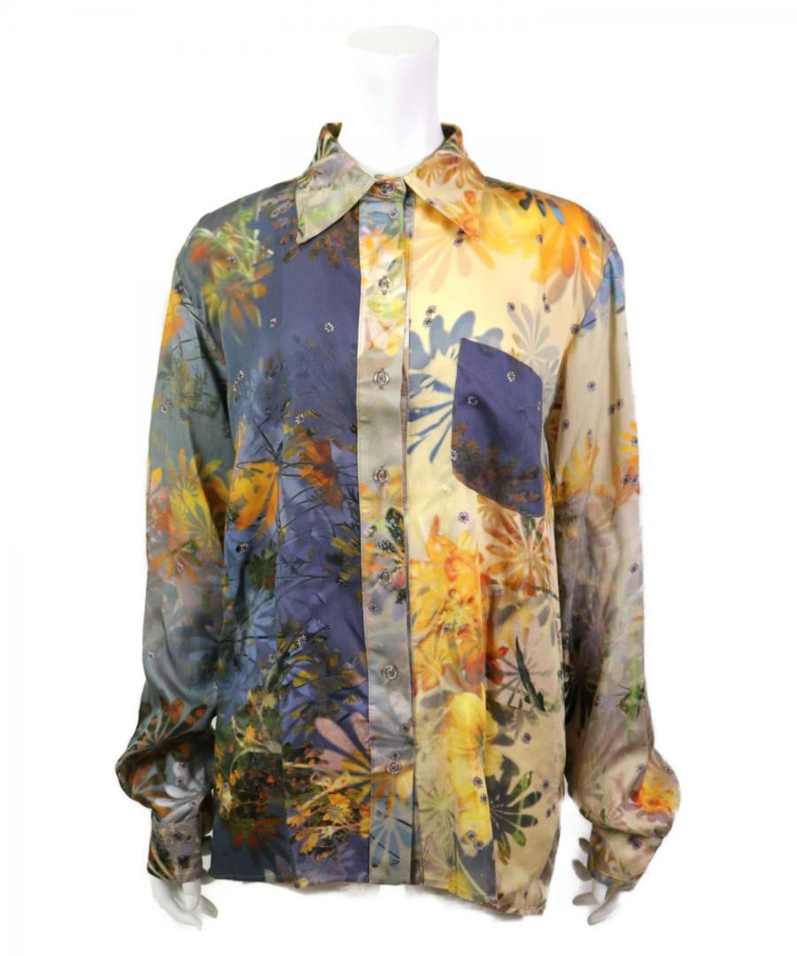 L/S MARIPOSA BUTTON UP