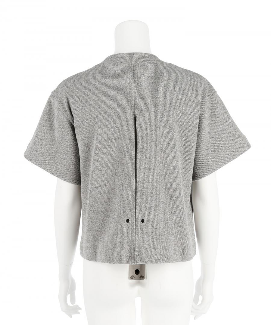 RIBBED JERSEY H/S TEE