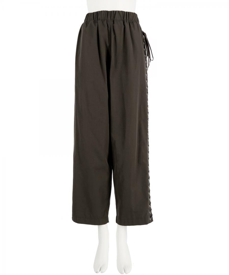 LACE UP TROUSERS
