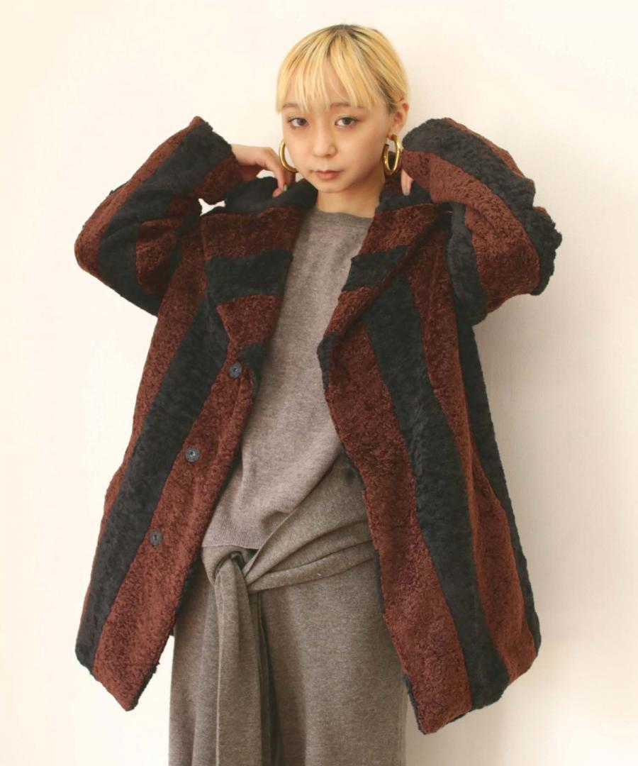 FAKE FUR SHORT COAT
