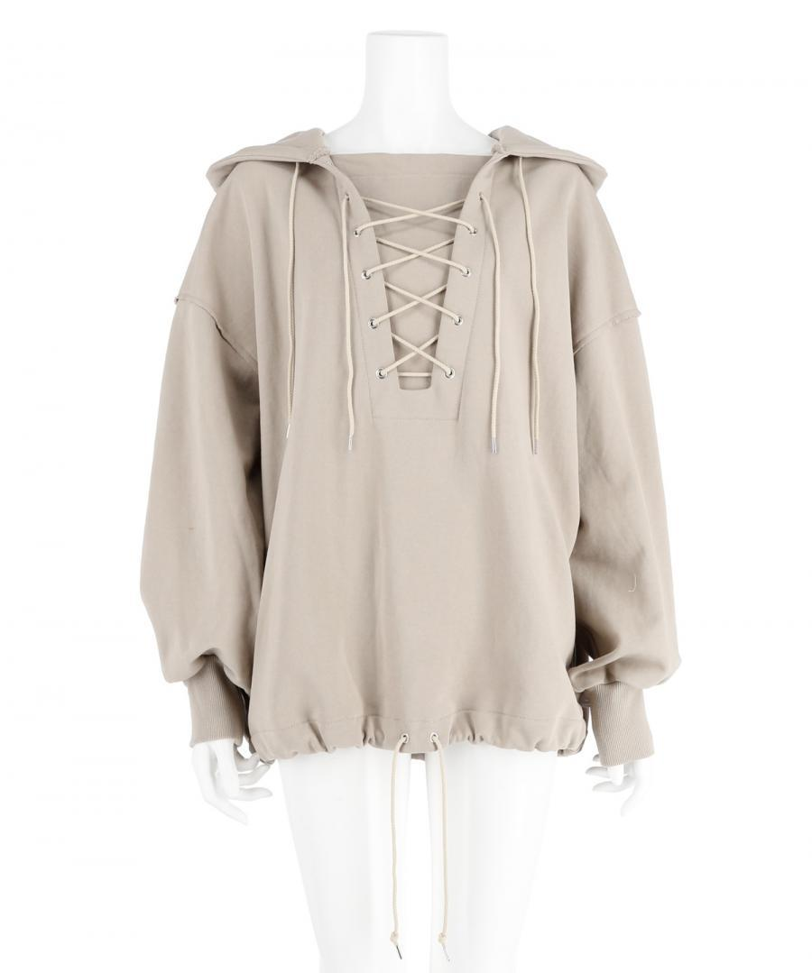 HOODED DECK PULLOVER