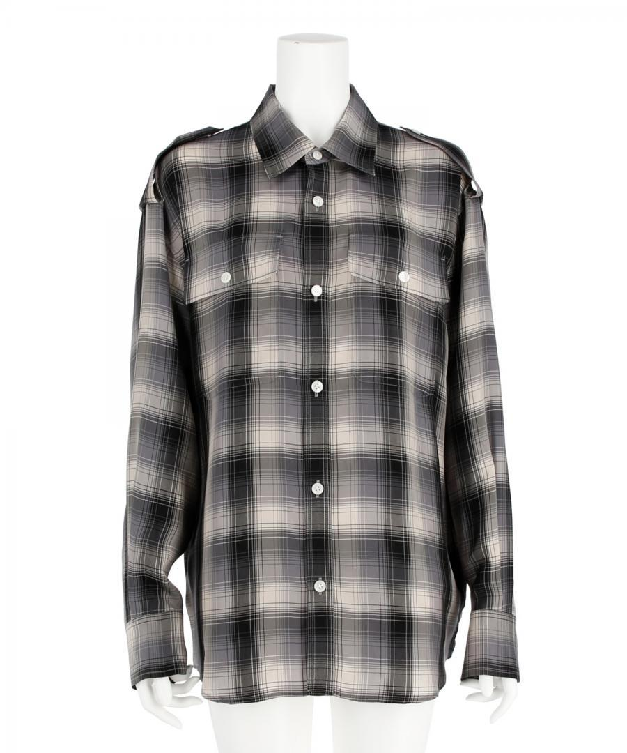 CHECK SHIRT BLOUSON