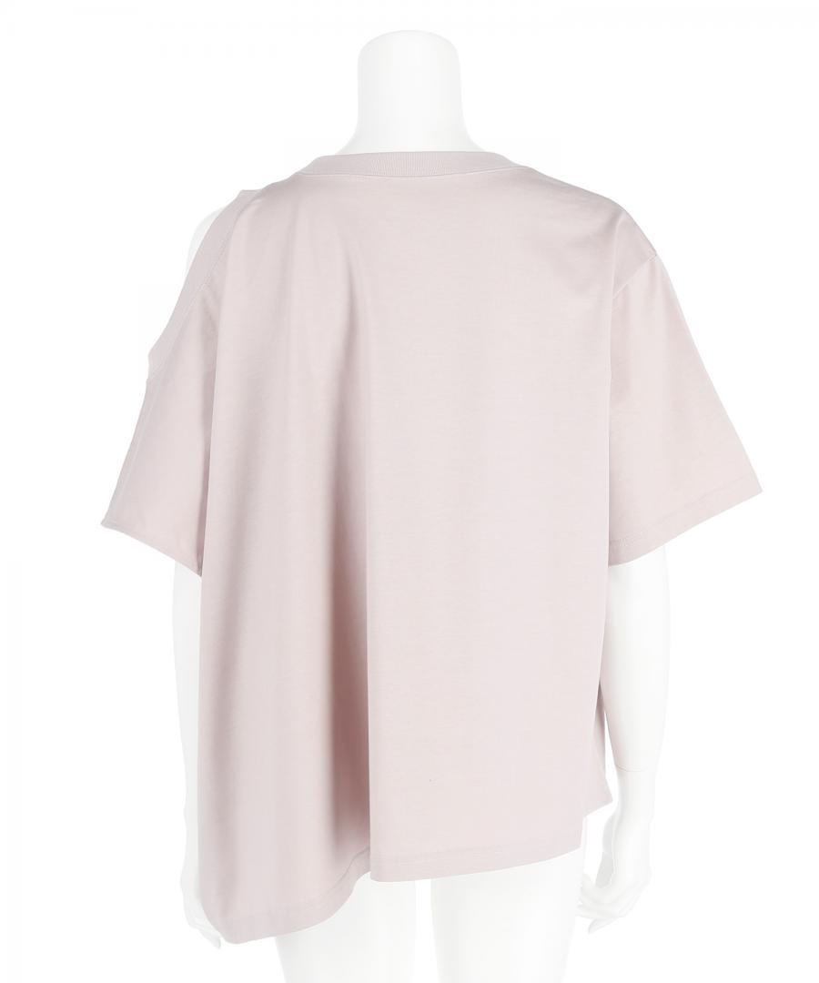 REDYEING DOUBLE NECK H/S TEE
