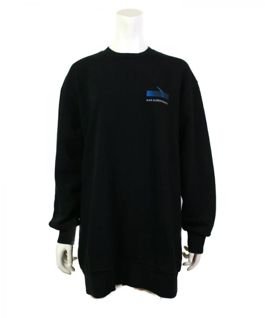 RELAXED CREW – FADED BLACK