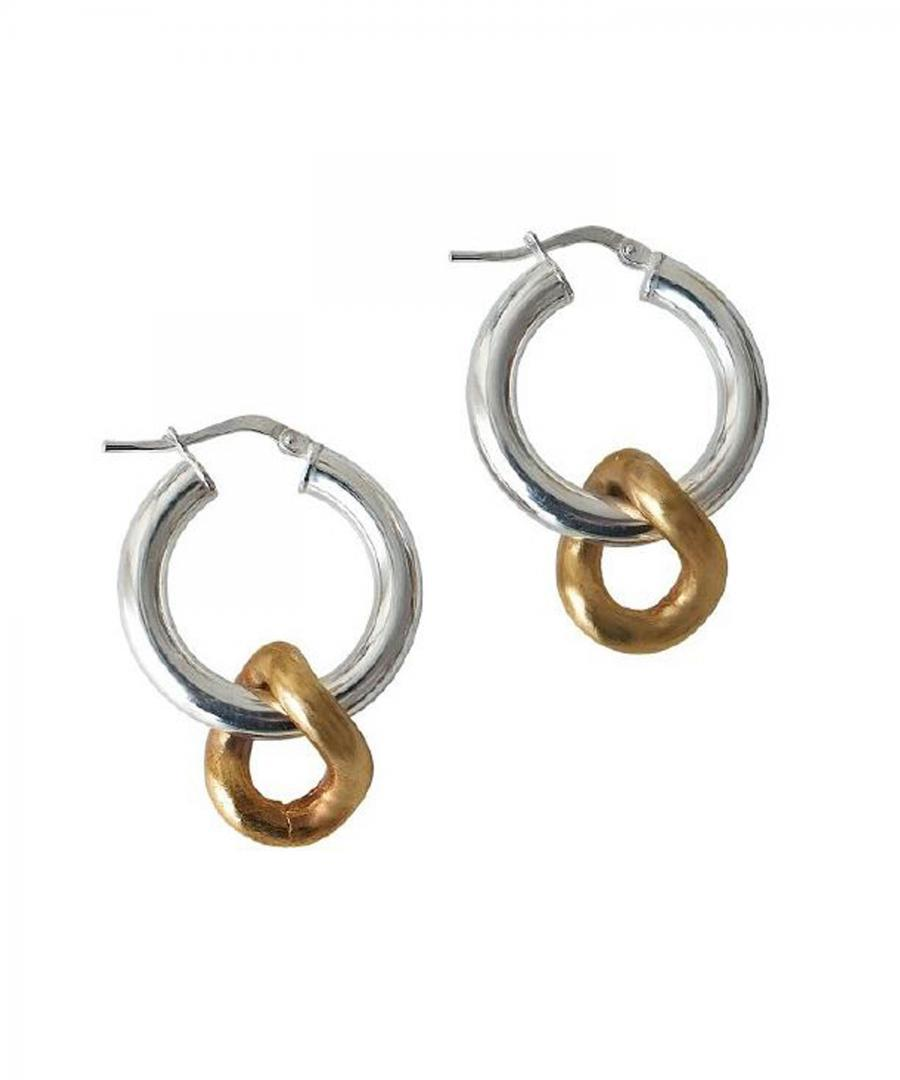 ONDA CHARM EARRINGS SILVER