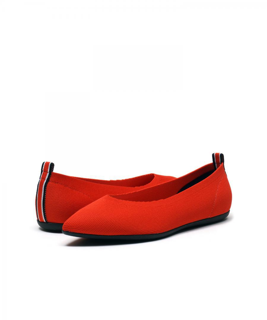 KNIT FLATS POINT Red