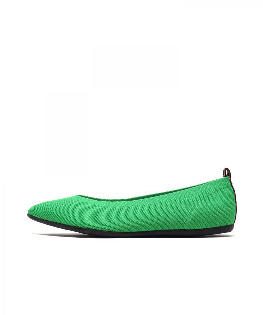 KNIT FLATS POINT Lime