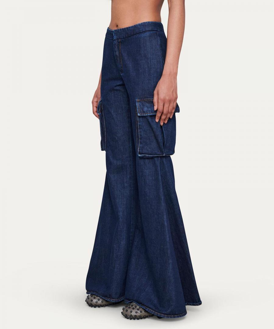 CARGO FITLOOSE PANTS