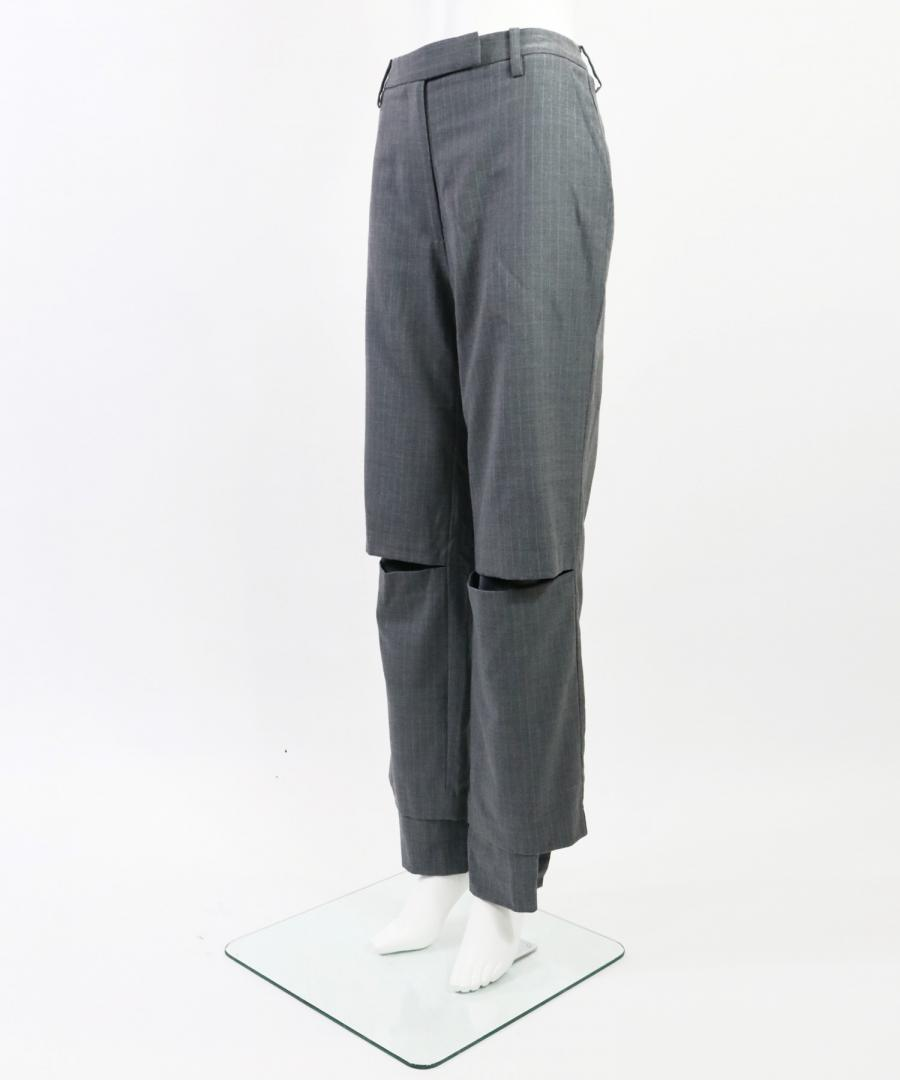 STAGGERED TROUSER