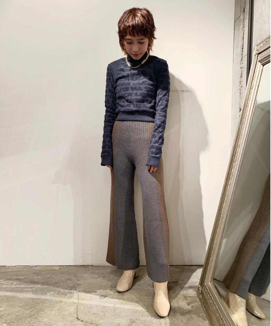 PLATED PANT