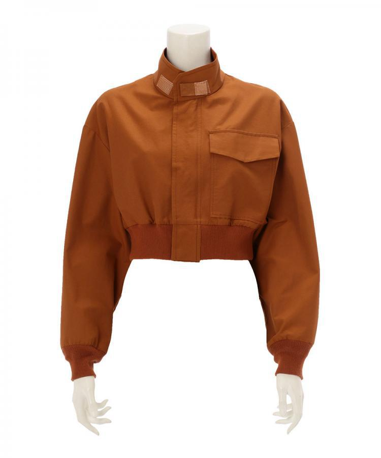 COTTON NYLON TWILL BLOUSON
