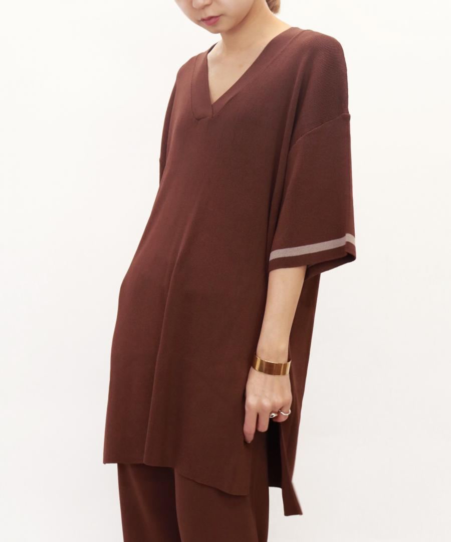 OVERSIZED KNIT TUNIC JUMPER