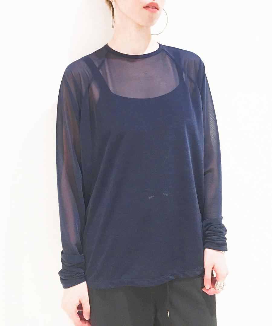 SEE THROUGH L/S TOP