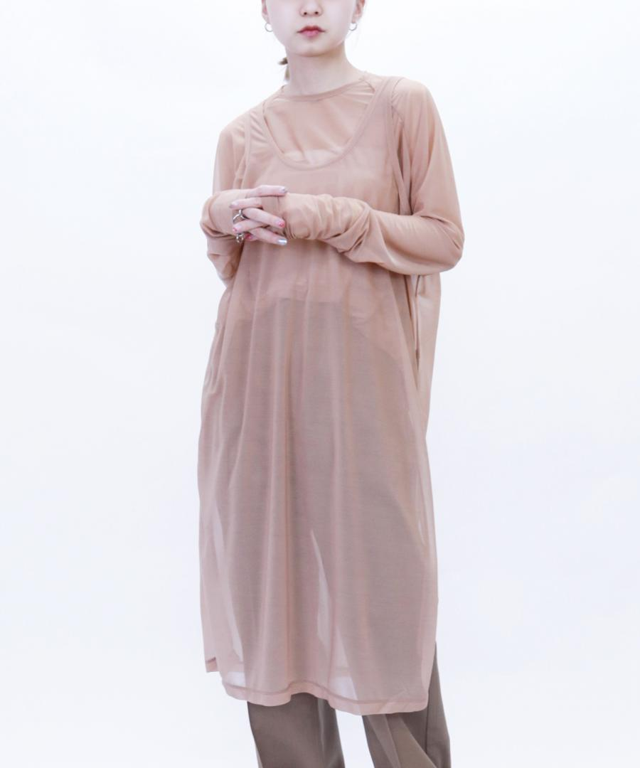 SEE THROUGH OVERSIZED DRESS