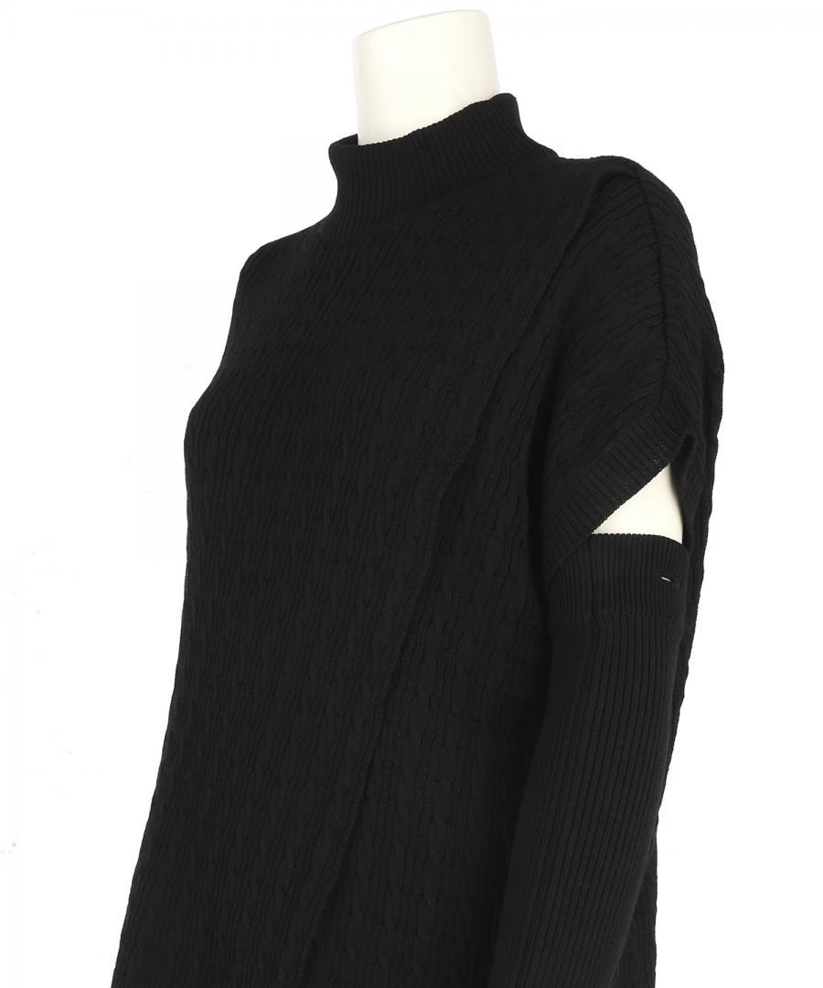 WASHABLE WOOL BLEND CABLE STITCH JUMPER