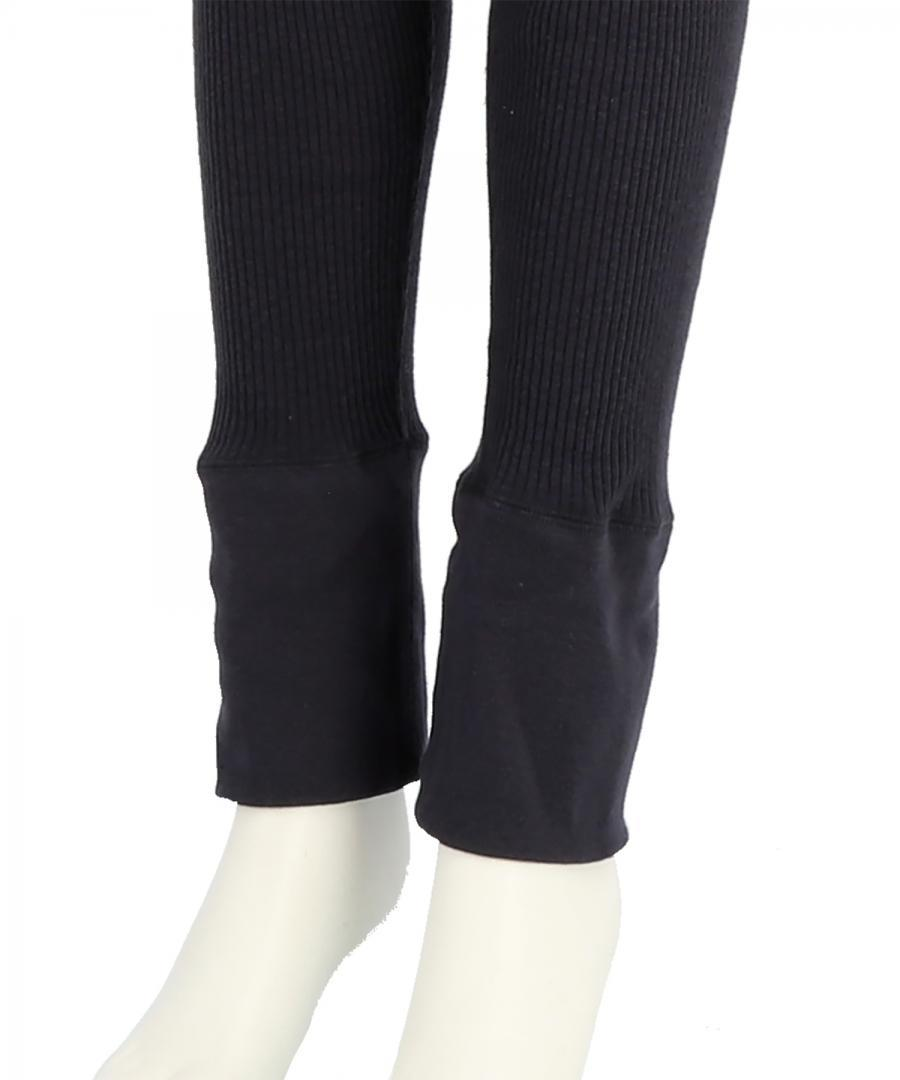 COTTON RIB LEGGINGS
