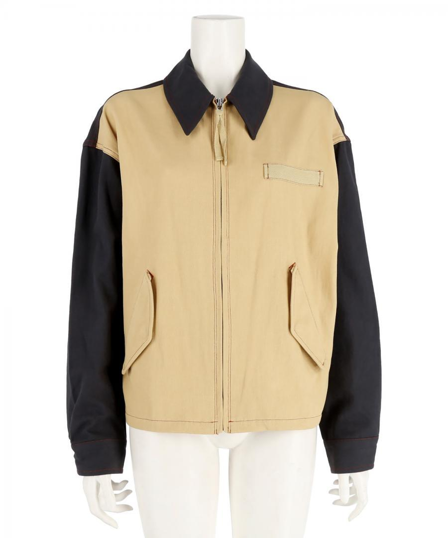 COTTON TWILL SWING JACKET
