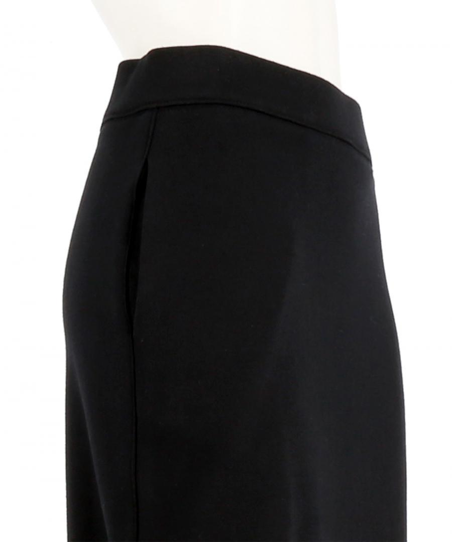 LACE UP JERSEY SKIRT