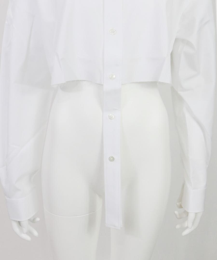 BROADCLOTH CROPPED SHIRT