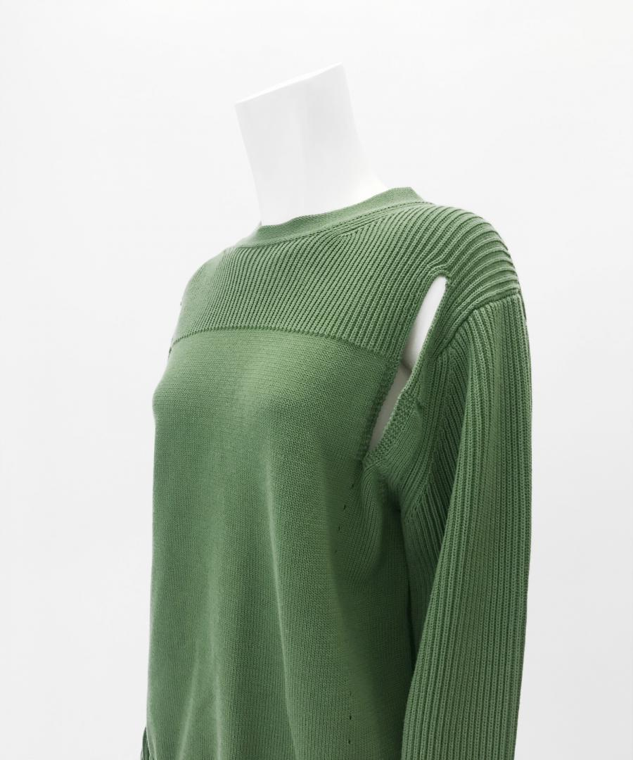 FRONT HOLES PULLOVER