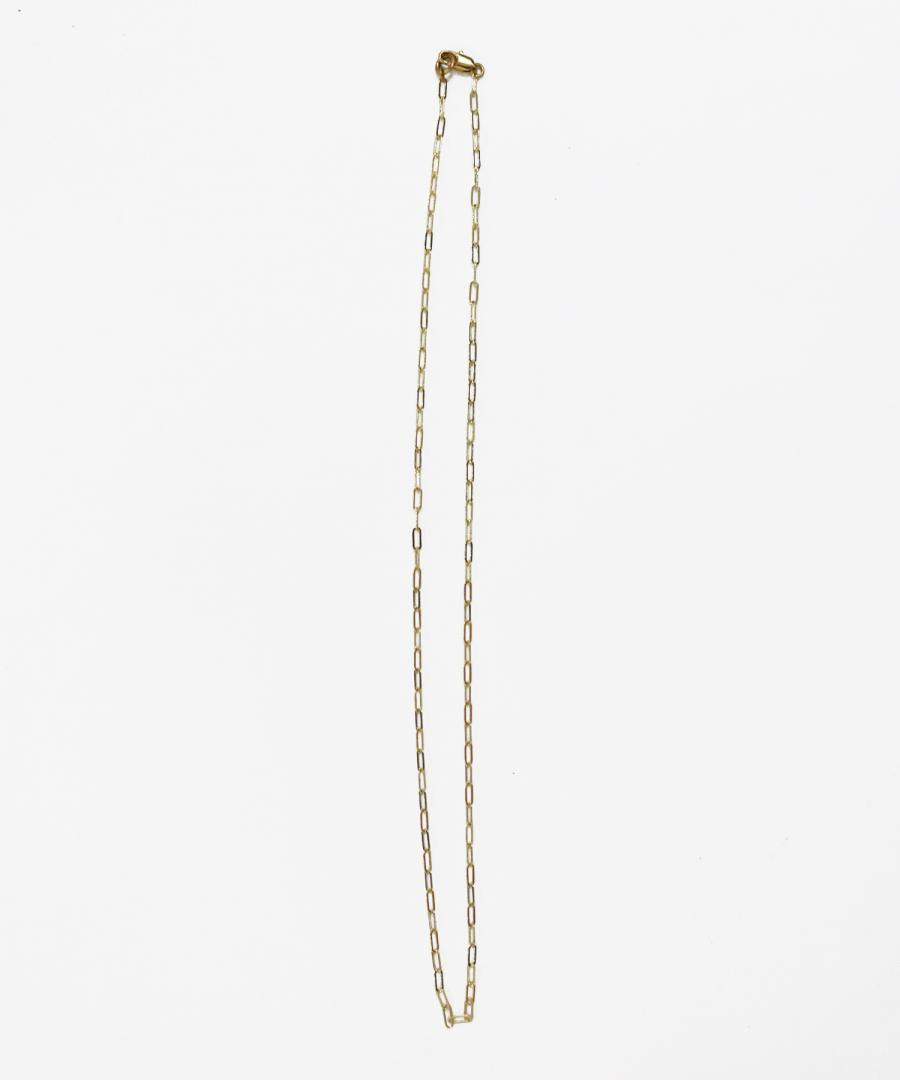 ESSENTIAL CHAIN NECKLACE - OVAL LINK