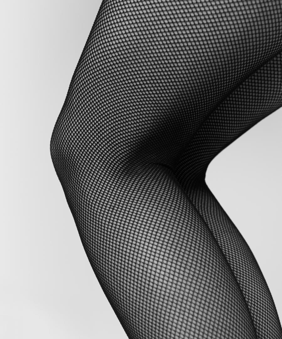 Elvira net tights Black