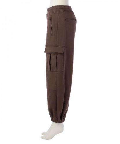 SWEAT CARGO TRACK PANTS