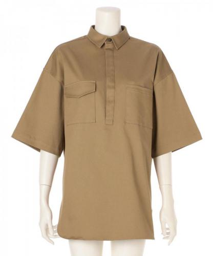 OVERSIZED COTTON TWILL SHIRT