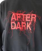 AFTER DARK EMBROIDERED SWEATSHIRT