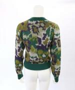 FLOWER JACQUARD KNIT SWEATER